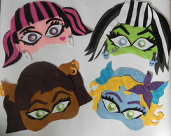 M�scaras Monster High