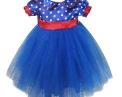 Vestido Princesa Galinha Pintadinha 1013