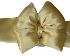 Faixa De Cabelo Dourada 1041
