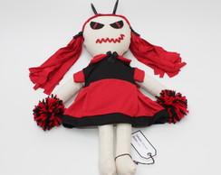 Boneca de pano Diaba - Lucy