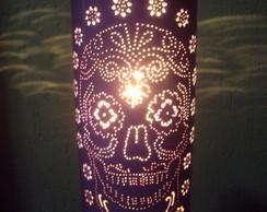 Lumin�ria Caveira Mexicana
