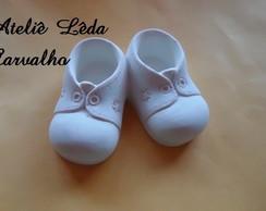 MOLDE SILICONE SAPATINHO BABY