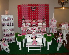 Decora��o Proven�al Minnie Rosa