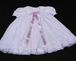 Vestido Branco Batizado