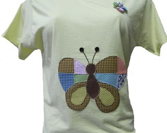 Butterfly de retalhos
