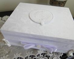 caixa toalete casamento