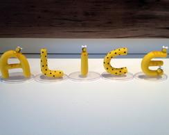 Nome de Biscuit - tema abelhinha