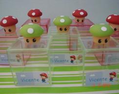 Caixinha de acr�lico Mario Bros