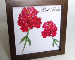 Quadro Red Bells Marron