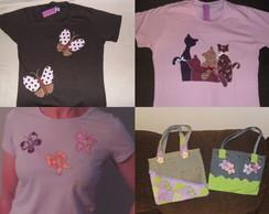 Camisetas, Bolsas e Toalhas