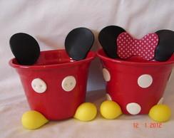 Cachep� Mickey e Minnie