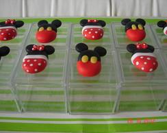 Caixa de acr�lico Mickey e Minnie