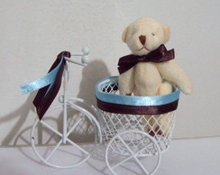 beb� ursinho na bicicletinha