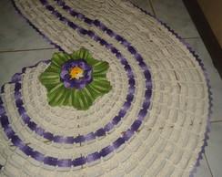 Tapete Espiral com flor Gerbera