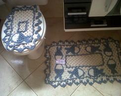 Jogo de Banheiro Peixinhos