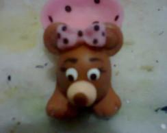 Forminha para doces ursinha