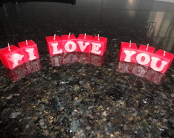 Velas I Love You