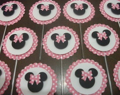 Toppers ou Tags para Doces/Cupcake 5cm