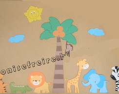 Border mdf Zoo zw Cute