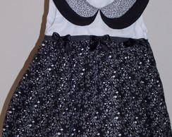 Vestido Duda-Flor em tricoline