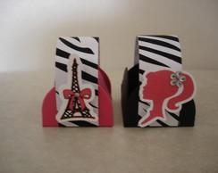 Forminha e mini xicara tema barbie zebra