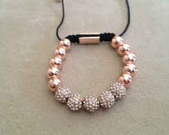 Shamballa rose gold