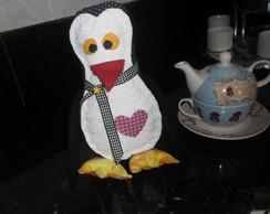 Pinguim em Patchwork