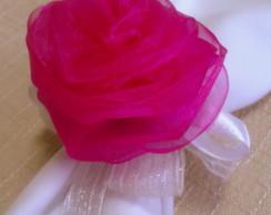 Flor Organza Pink