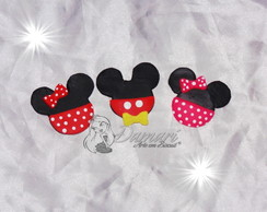 Aplique Minnie E Mickey