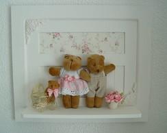 (MA 0146) Quadro maternida fam�lia ursos