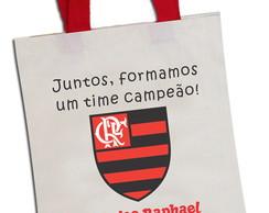 Sacola Ecobag Colorida Flamengo