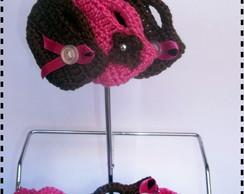 Chaveiro Mini bolsinha em croch�