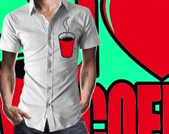 CAMISA I LOVE COFFEE - 92002