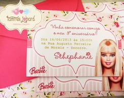 Convite - Barbie
