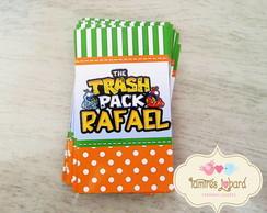 R�tulo Para Tubete - Trash Pack