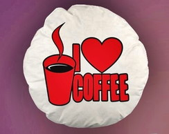 ALMOFADA REDONDA I LOVE COFFEE - 94008