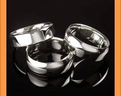 Alian�as em prata fina