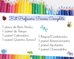 Kit Professora Pain�is Completo