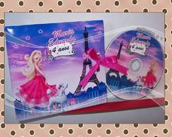 DVD Personalizado Barbie Moda e Magia