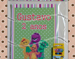 Kit de Colorir Barney