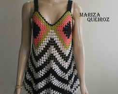 BLUSA  CROCH�   ZIGUE - E - ZAGUE