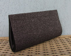 Clutch Neutra com Brilho