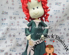 PRINCESA MERIDA biscuit  Pronta Entreg