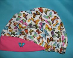 touca cirurgica cole��o borboletas