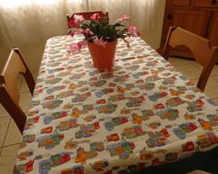 Toalha de mesa dupla face