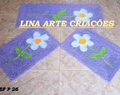 Jogo De Passadeira margarida lil�s