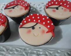 Cupcakes Peter Pan, sininho e os piratas