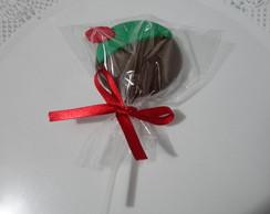 Pirulitos de chocolate do Peter Pan!