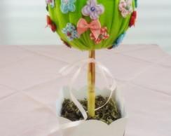 Arvore de mini flores fuxico