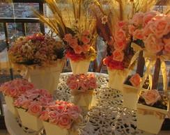 Conjunto De Flores Secas Para Festas VII